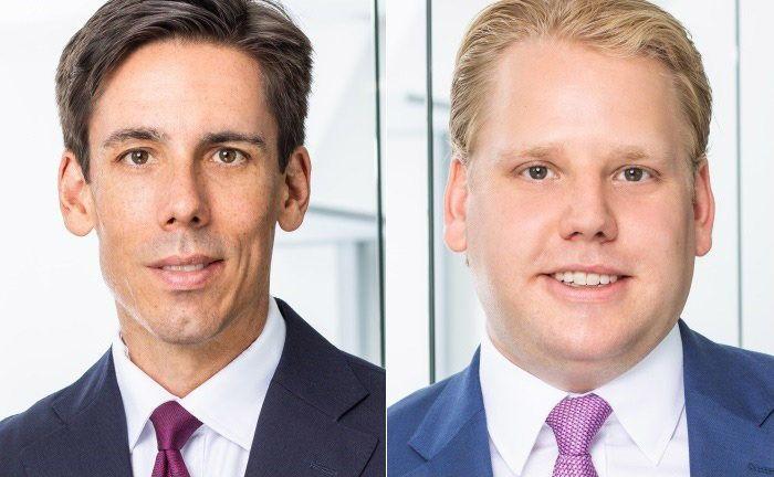 Robert Jividen (l.) und Hendrik van Rahden sind Gründer und Geschäftsführer von Beit Capital Advisors.