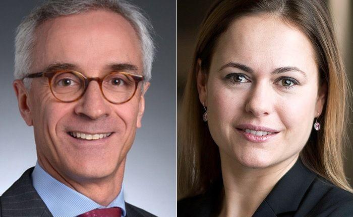 Robert Wagner und Anke Bridge Haux sitzen ab November in der Geschäftsleitung der Credit Suisse Schweiz. |© Credit Suisse