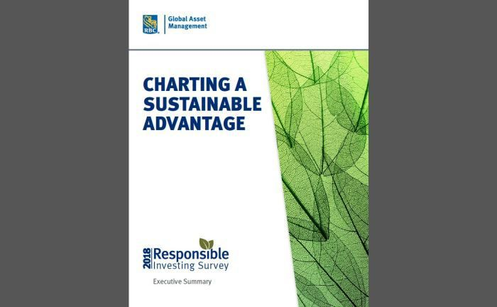 Die RBC Global AM Responsible Investing Survey 2018.