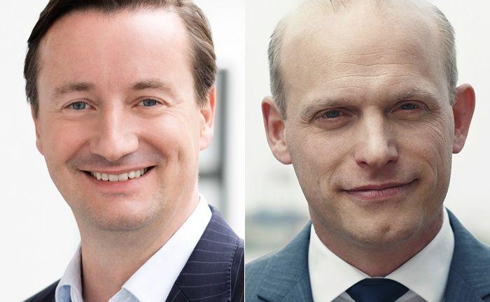 Michael Schwalba (l.) und Matthias Korn von der Investmentboutique Caplantic.