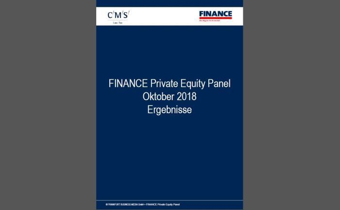 Für die Studie werden drei Mal im Jahr mehr als 50 verschiedene Private-Equity-Häuser aus dem deutschen Mittelstand befragt.