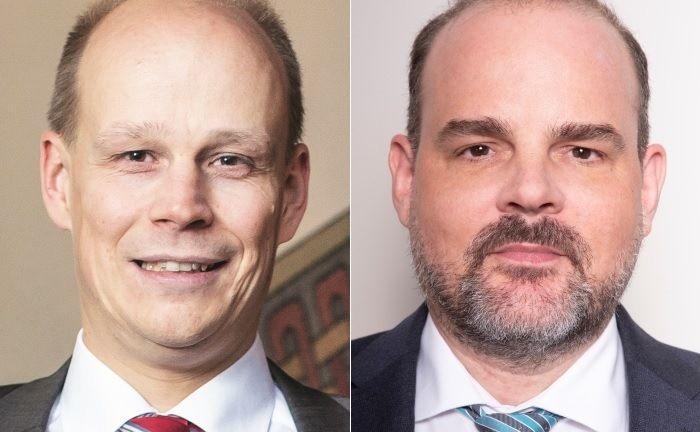 """Matthias Kurzrock (l.) und Oliver Klehn: """"Während andere mit der Lupe arbeiten, haben wir ein Elektronenmikroskop""""."""