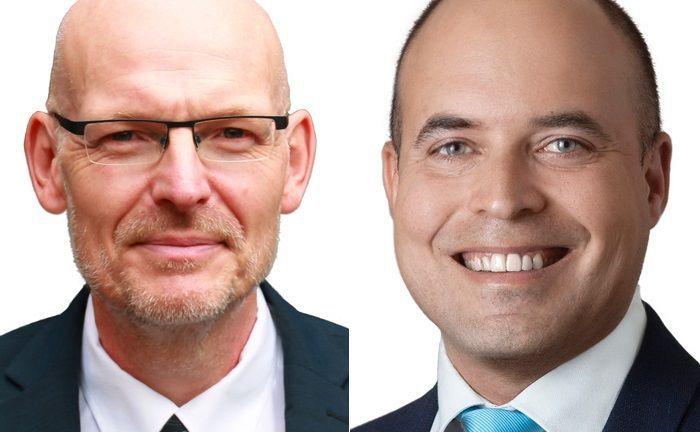 Jens-Peter Bostelmann (l.) und Vinicius Kagel gehören seit November 2018 zum Senior-Partner-Kreis der Deutschen Wertpapiertreuhand.|© Deutsche Wertpapiertreuhand