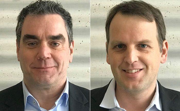 Felix Fernandez (l.) und Tobias Setz von Open Metrics Solutions.