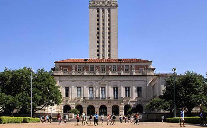 Hauptgebäude der Universität Texas in Austin