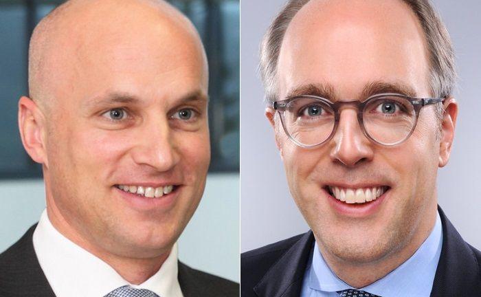Achim Unger (l.) und Friedrich Rohde, beide mit Deutscher Bank Vergangenheit, sind nun an unterschiedlichen Standorten der J.P. Morgan Private Bank tätig.|© J.P. Morgan