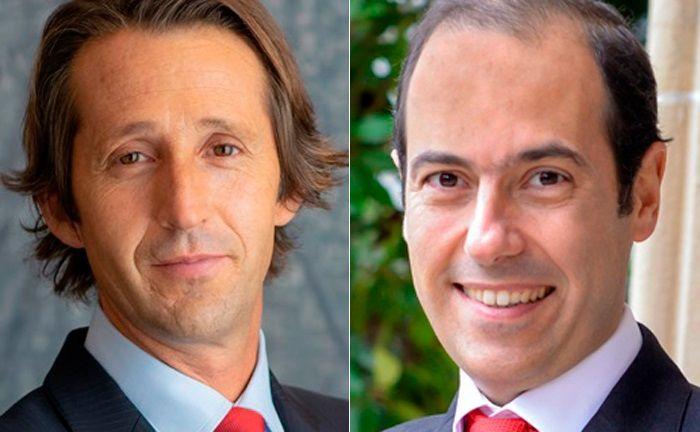 Christophe Caspar (l.) und Gad Amar besetzen die beiden neu geschaffenen stellvertretenden Chefposten im Asset Management von Edmond de Rothschild.|© Edmond de Rothschild