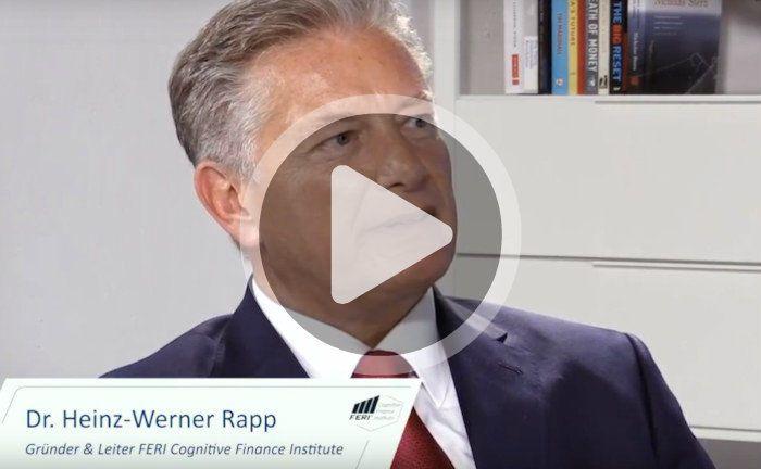 Heinz-Werner Rapp, Vorstand und Investmentchef bei Feri sowie Leiter und Gründer des Instituts Feri Cognitive Finance.