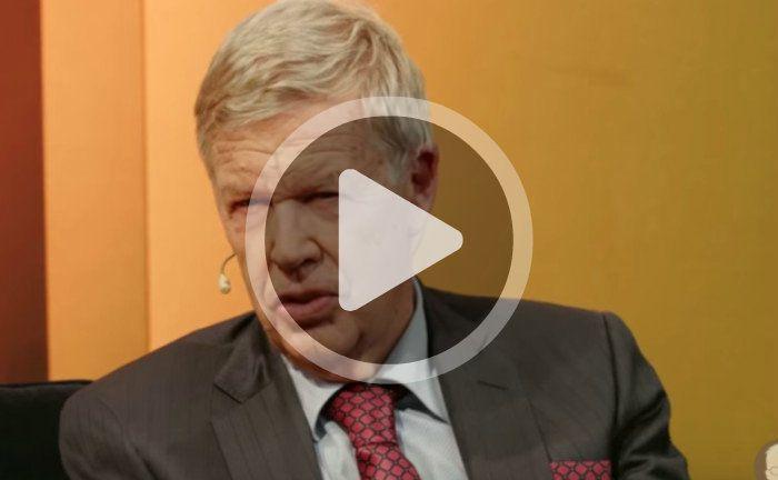 Jens Erhardt, Vorstandsvorsitzender der DJE Kapital AG