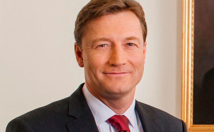 Auf dem Siegerpodest: Im Zuge der Umwandlung von Hauck & Aufhäuser in die Rechtsform der Aktiengesellschaft im Juni 2017 wurde Michael Bentlage Vorsitzender des Vorstands. |© Hauck & Aufhäuser