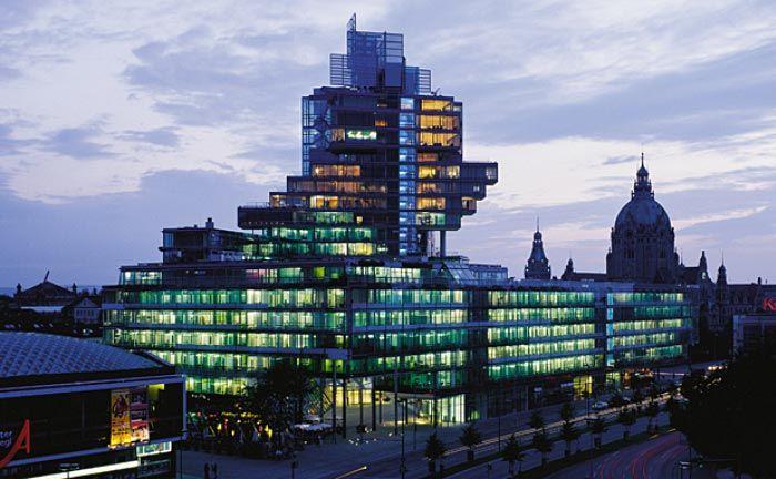 Die Zentrale der Nord/LB in Hannover