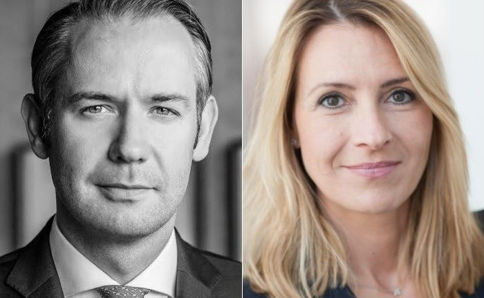 Matthias Mohr und Karolyn Krekic.  | © Capital Group