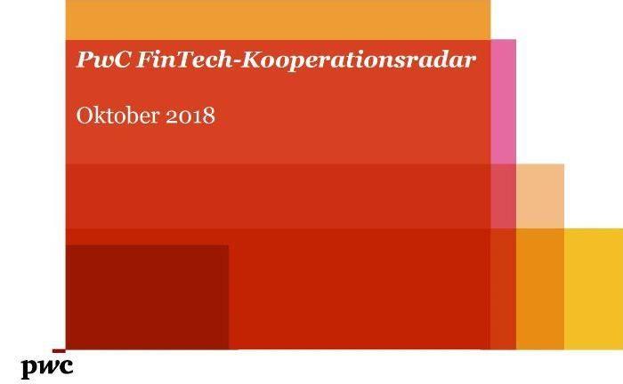 Das Fintech-Kooperstionsradar 2018 von PWC. |© PWC