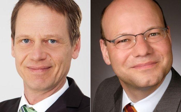 Tim Helm (l.) und Stefan Klotz.