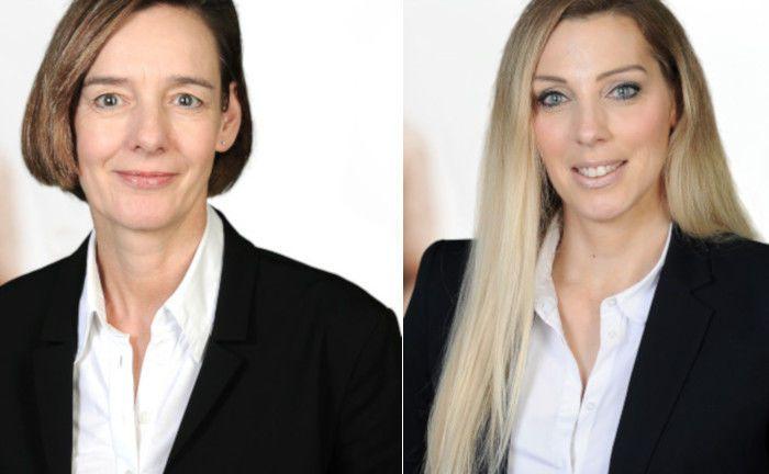 Petra Oetelshoven (links) und Annika Knoke betreuen nun bei Feri Trust institutionelle Kunden. |© Feri