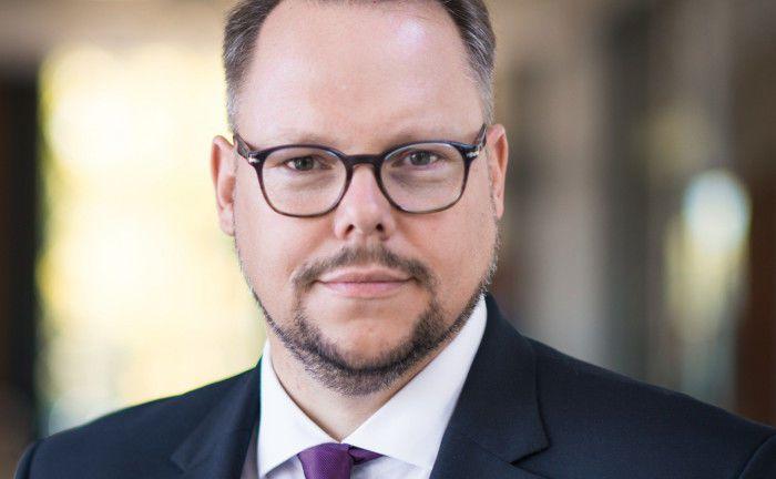 Joachim Fröhlich ist Vorstandsmitglied der Evangelischen Bank. In seiner Funktion ist er auch für nachhaltiges Investment Management zuständig. |© Evangelische Bank
