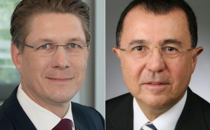 Andreas Teichmann (l.) und A. Sabri Ergin