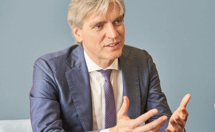 Heiko Schlag leitet das Private Banking Deutschland von Julius Bär. |© Jens Hannewald