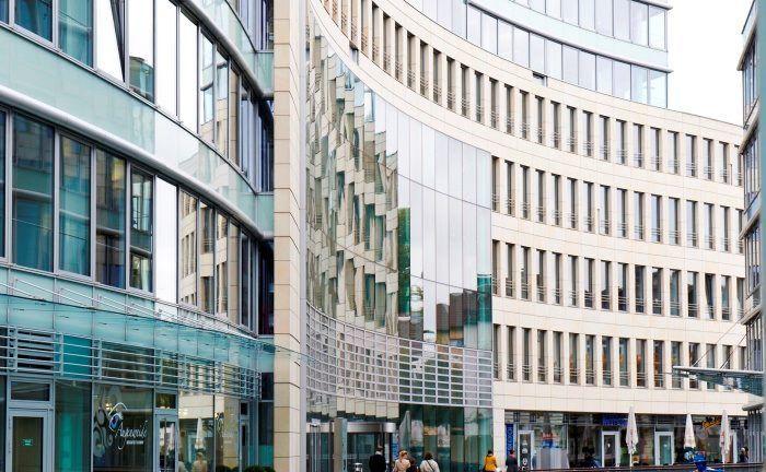 Sitz von Invesco Asset Management in Frankfurt