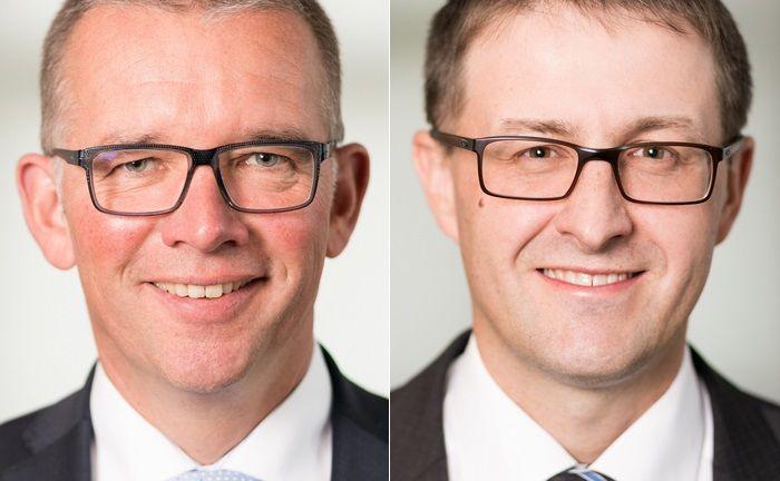 Harald Kärcher (l.) und Johannes Kienzler wechseln aus dem Private Banking der Sparkasse Schwarzwald-Baar zum unabhängigen Vermögensverwalter Eberhardt & Cie.