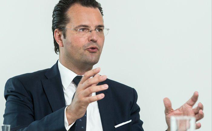 Uwe Dietl leitet bei der Fondsplattform Attrax den institutionellen Vertrieb.|© Andreas Mann