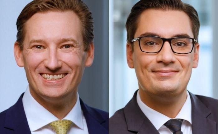 Neu bei HQ Asset Management: Martin Schmitz (l.) und Andreas Metzen.