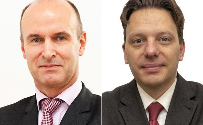 Peter Füzi (l.) und Markus Lorbach von Qcoon Invest: Letzterer ist der aktuelle Neuzugang.