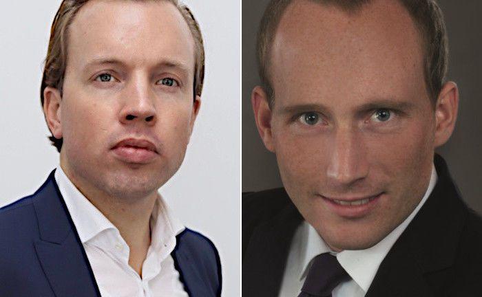 Sebastian Uckermann (links) und Patrick Drees sind Geschäftsführer der Kenston Pension GmbH. Kenston ist eine gerichtlich zugelassene Rentenberatungskanzlei für die betriebliche Altersversorgung.|© Kenston