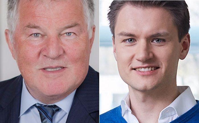 Peter Dobler (l.), Geschäftsführender Gesellschafter von PS Plus, und Christian Ropel, Mitgründer von Weadvise.|© PS Plus, Weadvise