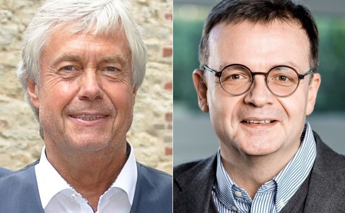 Wollen Mandanten umfassende Betreuung bieten: Friedhelm Spiekermann (l.) und Felix Osterheider.  |© Attentium/Oliver Pracht