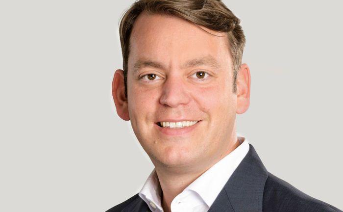 """Martin Steinmeyer: Der Netfonds-Vorstand betont, das Portal des Hamburger Unternehmens stelle eine """"strikte Absage an das Robo-Advisory"""" dar. """"Die Netfonds-Gruppe sieht den Berater auch weiterhin im Fokus ihrer Geschäftsstrategie."""""""