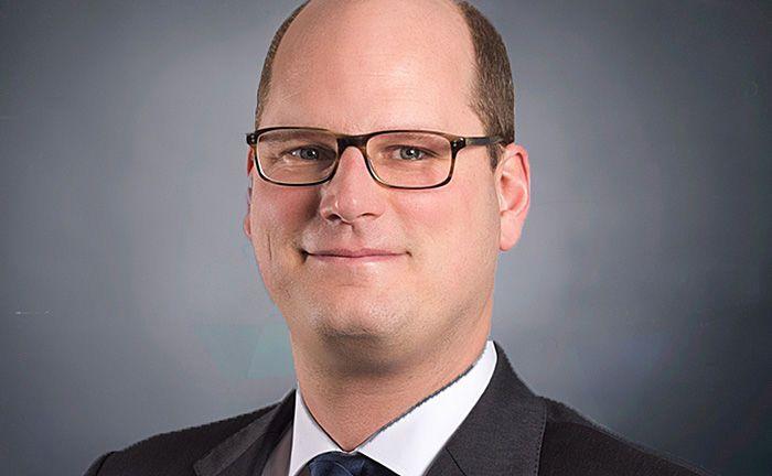 """Mirco Himmel, stellvertretender Leiter Asset Management: """"Mit dem neuen Produkt wenden wir uns insbesondere an Investoren beispielsweise aus dem Stiftungsbereich oder Sparkassen""""."""