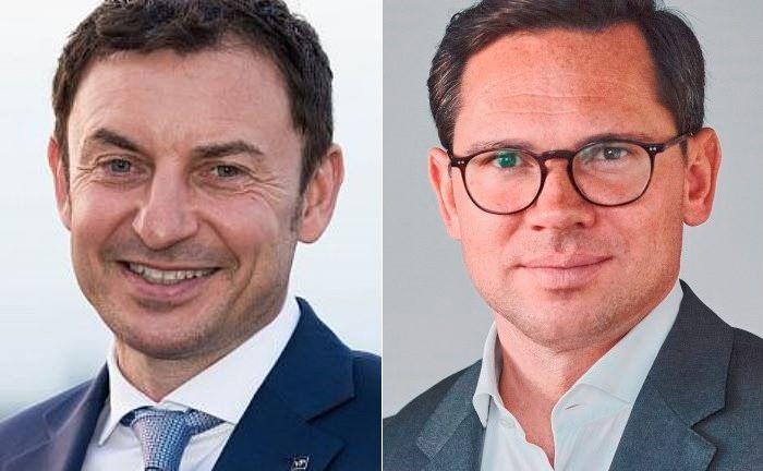 Martin Töpfer (l.), Geschäftsführer bei Von Poll Finance, und Sebastian Hasenack von Solidvest.