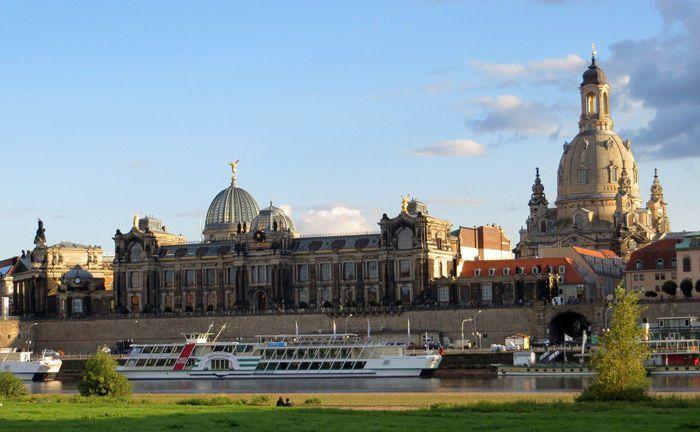 Blick auf Dresden samt Frauenkriche: Das Bankhaus Löbbecke wird in der sächsischen Landeshauptstadt ab April nicht mehr mit einer eigenen Geschäftsstelle vertreten sein.|© Pixabay