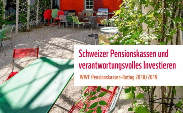 Das WWF Pensionskassen-Rating 2018/2019 analysiert und bewertet die 20 größten Pensionskassen in der Schweiz anhand des verwalteten Vermögens. |© WWF