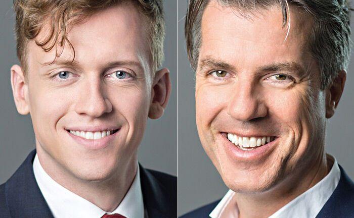 Christoph Benner (r.) und Benedikt Kirsch|© Chom Capital