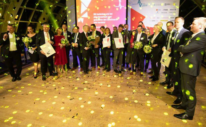 Airbus, Baxter und Siemens sowie die Com-TS-Gesellschaften, Krauss-Maffei und Brand sind die Gewinner des Deutschen bAV-Preises 2019.|© Peter Adamik