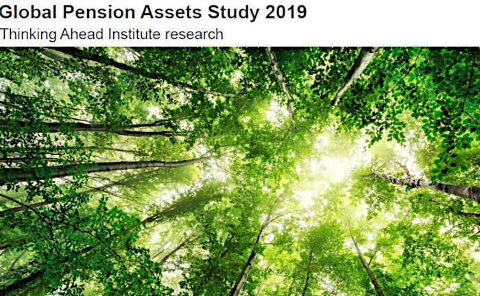Das Thinking Ahead Institute analysiert im Auftrag von Willis Towers Watson das globale Pensionsvermögen.  | © Screenshot