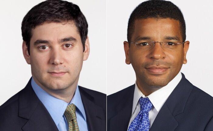 Ido Cohen (l.) und Juan Hartsfield, Fondsmanager des Invesco Global Consumer Trends Fund, filtern die aussichtsreichsten Titel in der breit gestreuten Freizeit- und Konsumbranche.