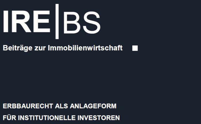 Eine neue Studie des Lehrstuhls Immobilienfinanzierung der IREBS an der Universität Regensburg beschäftigt sich mit den Besonderheiten von Erbbaurechten. |© Universität Regensburg