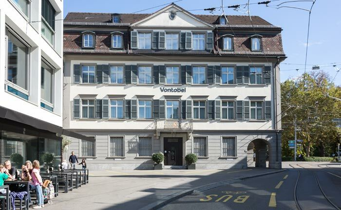 Niederlassung der Bank Vontobel in St. Gallen. |© Matti Blume