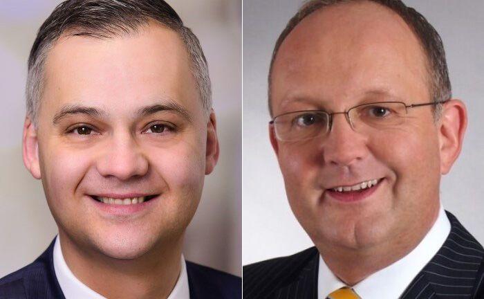 Sebastian Fojcik (l.) und Nils-Peter Voß|© Commerzbank