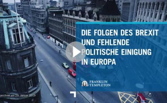 Europa fehlt der Wille zur politischen Einigung