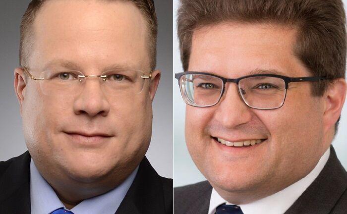 Stefan R. Haake (l.) und Ferenc von Kacsóh haben zusammen mit Arne von Neubeck und Benjamin Kern das Multi Family Office Pariter Fortis gegründet.