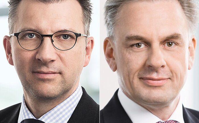 Urlich Neugebauer (l.) und Jörg Boysen|© Deka Investment
