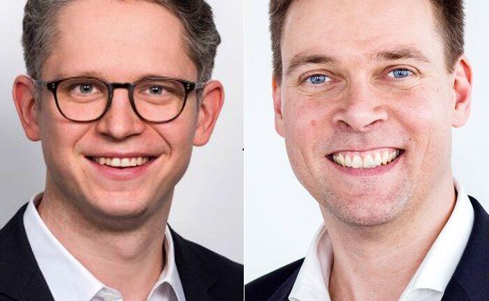 Jens Siebert (l.) und Andreas Leckelt
