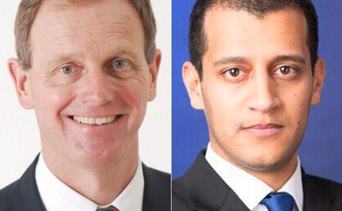 Graham Tuckwell, Gründer von ETF Securities, ist einer der Kapitalgeber des Schweizer Krypto-Fintechs Amun von Chef und Mitgründer Hany Rashwan.