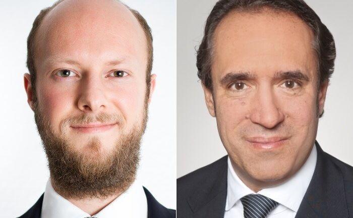 Daniel Schüttpelz (l.) und Sven Oberle von der Wirtschaftsprüfungsgesellschaft EY.