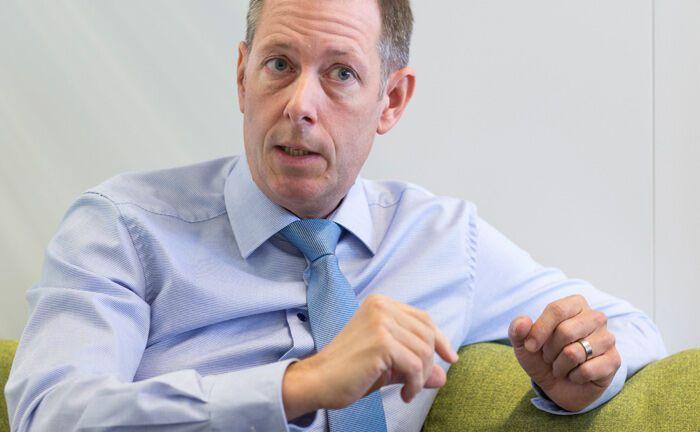 Andreas Lindner ist Chefanleger der Allianz Lebensversicherung.|© Thomas Bernhardt