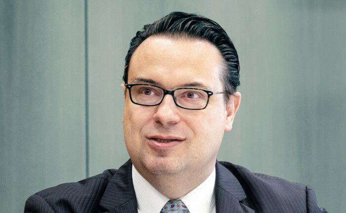 Peter-Henrik Blum-Barth verantwortet die liquiden Assets im 28 Milliarden Euro schweren Kapitalstock der SV Sparkassen-Versicherung.|© Johannes Vogt